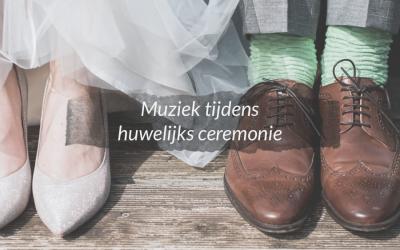 Muziek tijdens huwelijksceremonie